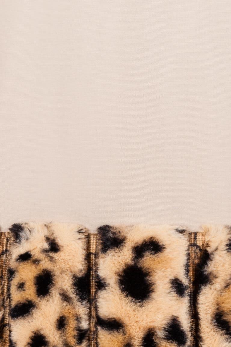 Vorderansicht von Ana Alcazar A-Linien Kleid Dobeoris  angezogen an Model