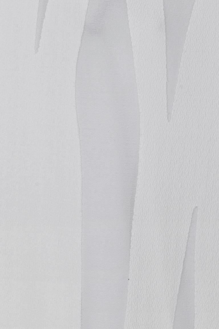 Vorderansicht von Ana Alcazar Schlichtes Kleid White Faley  angezogen an Model