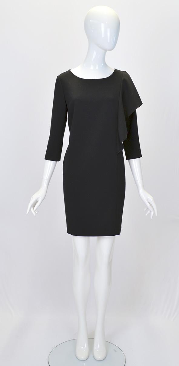 Rückansicht von Ana Alcazar Volant-Kleid Diney  angezogen an Model