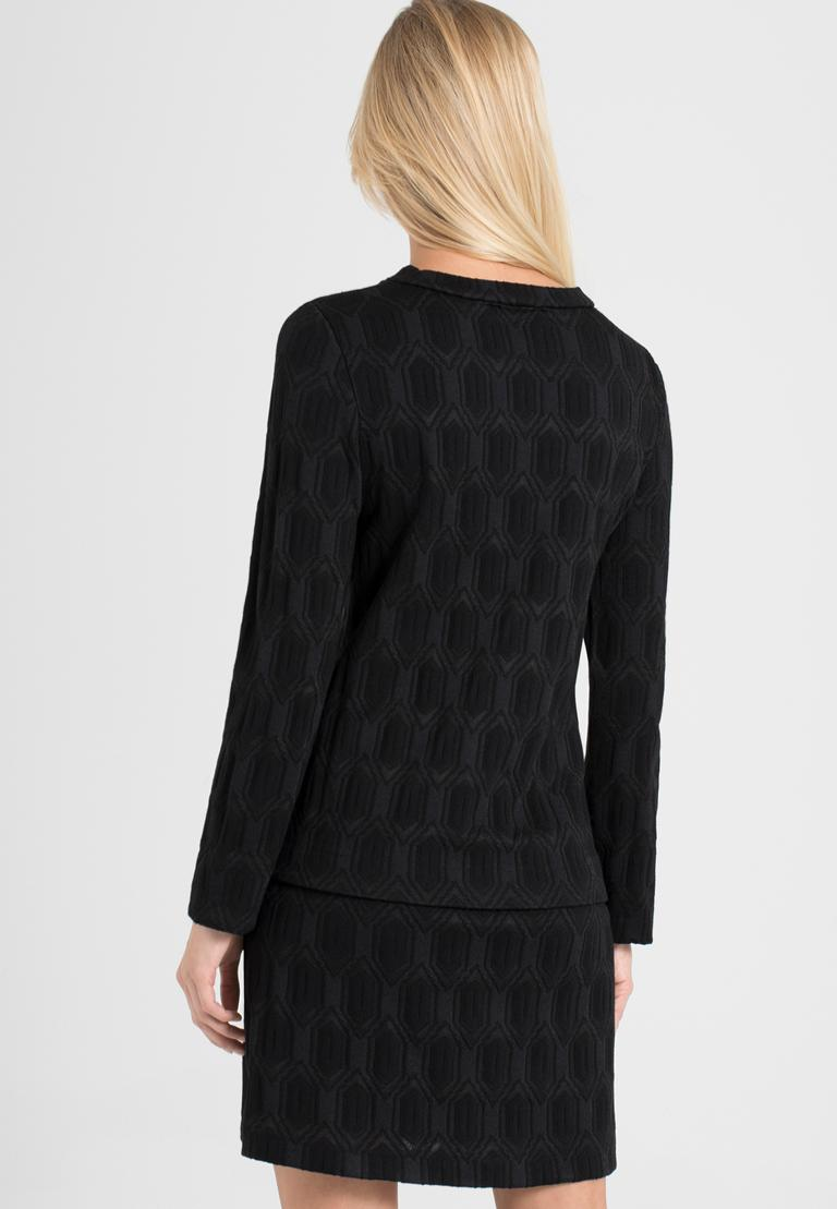 Rückansicht von Ana Alcazar  A-Linien-Kleid Omkany   angezogen an Model