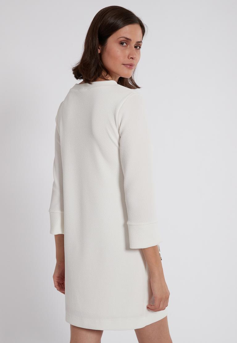 Rückansicht von Ana Alcazar Sixties Kleid Perrinya  angezogen an Model