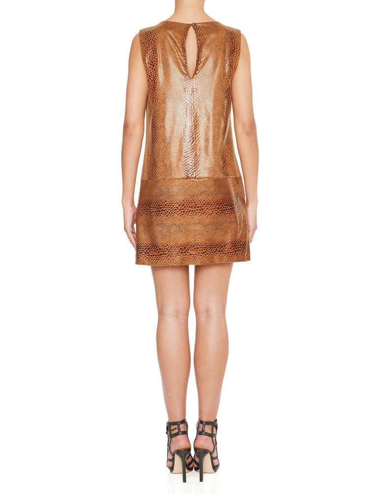 Detailansicht von Ana Alcazar A-Linien Kleid Korana Grey