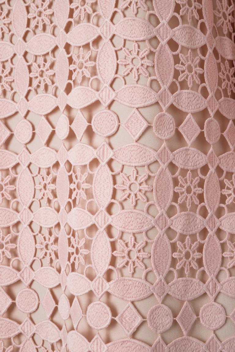 Detailed view of Ana Alcazar Feather Dress Neava