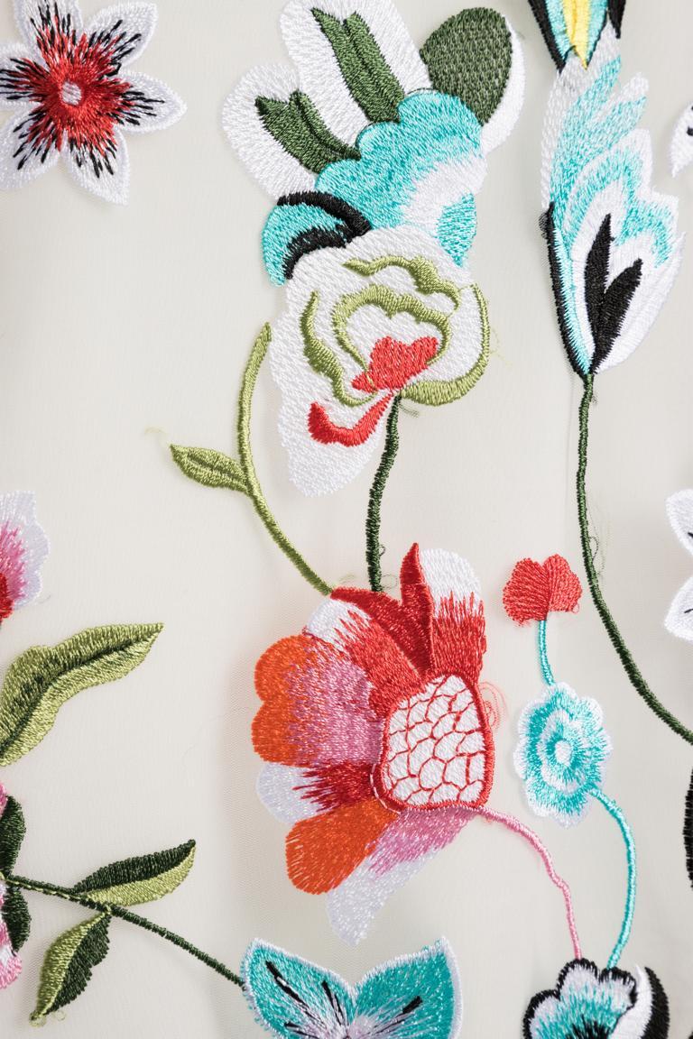 Detailansicht von Ana Alcazar Besticktes Kleid Nusaya