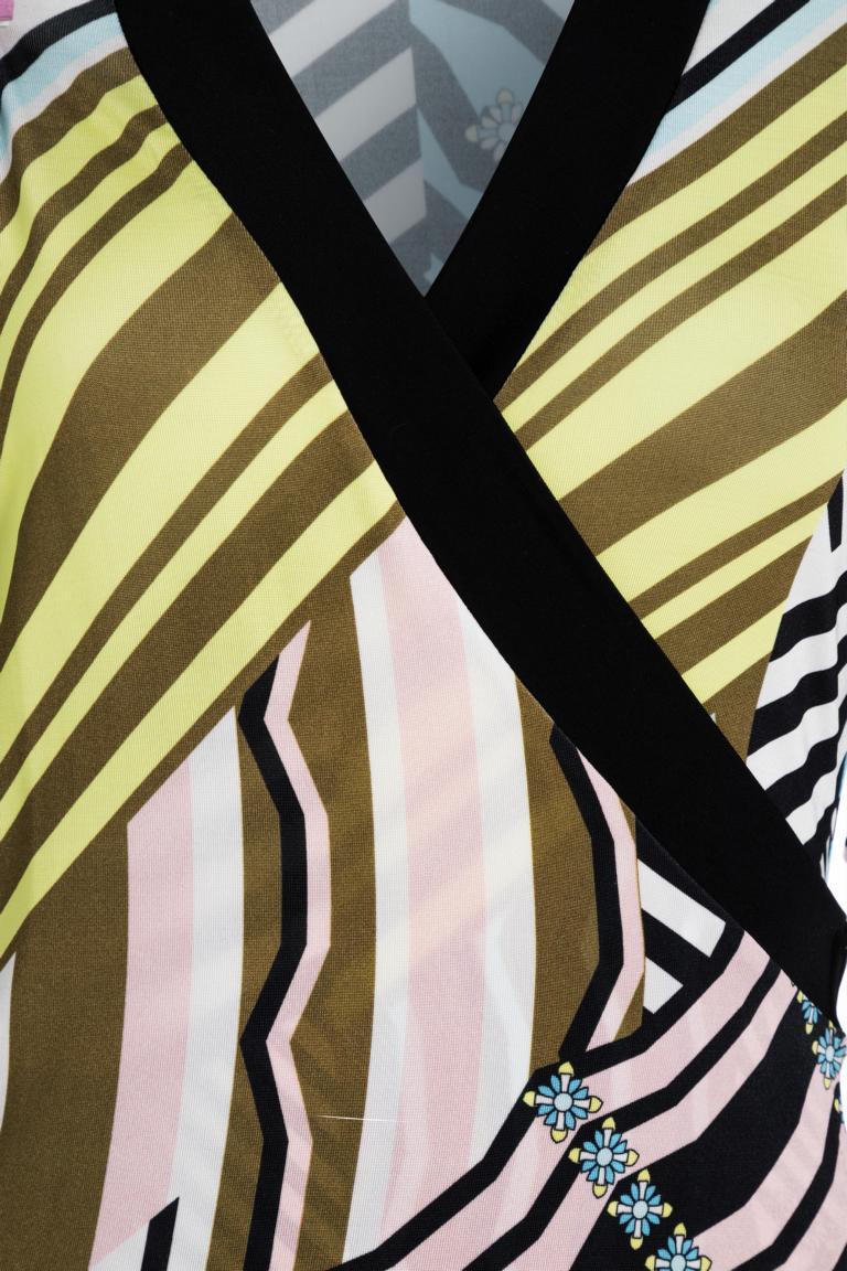 Detailansicht von Ana Alcazar Wickelkleid Niose