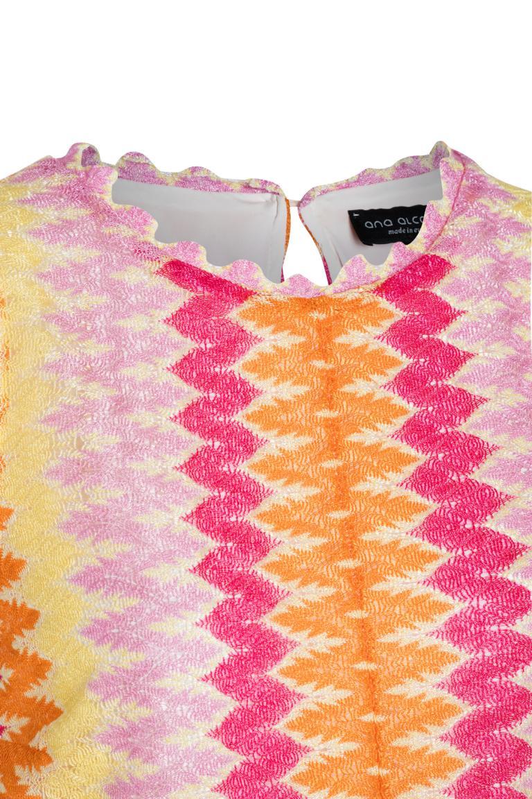 Detailansicht von Ana Alcazar A-Linien Strickkleid Nasmin