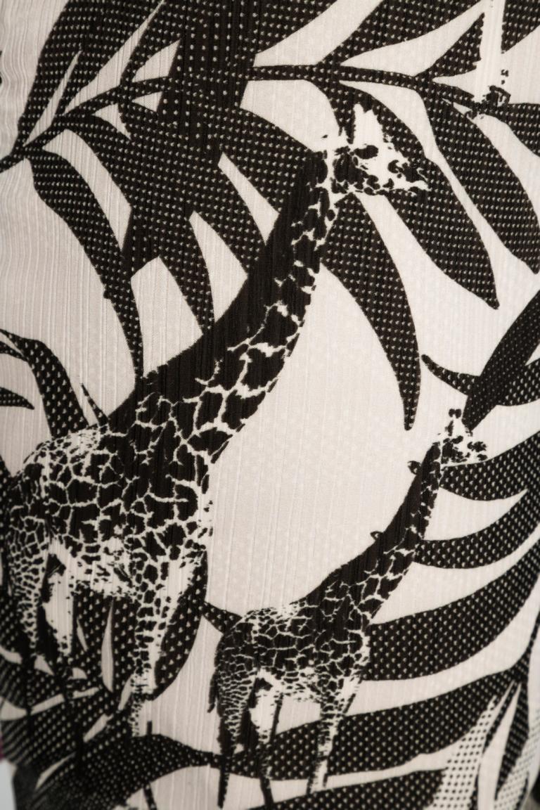 Detailansicht von Ana Alcazar Hose Giraffe Nelwya