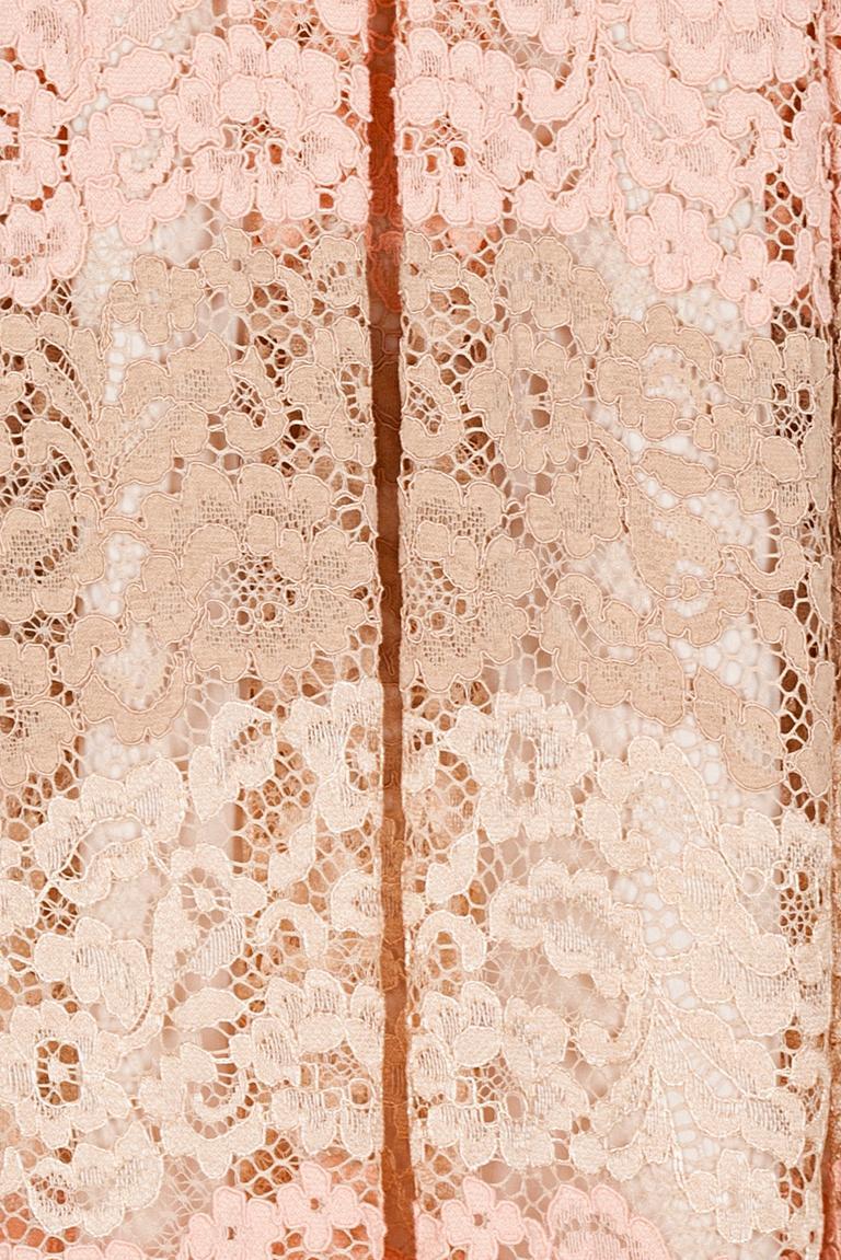Detailansicht von Ana Alcazar Prinzess Kleid Rose Flaconis