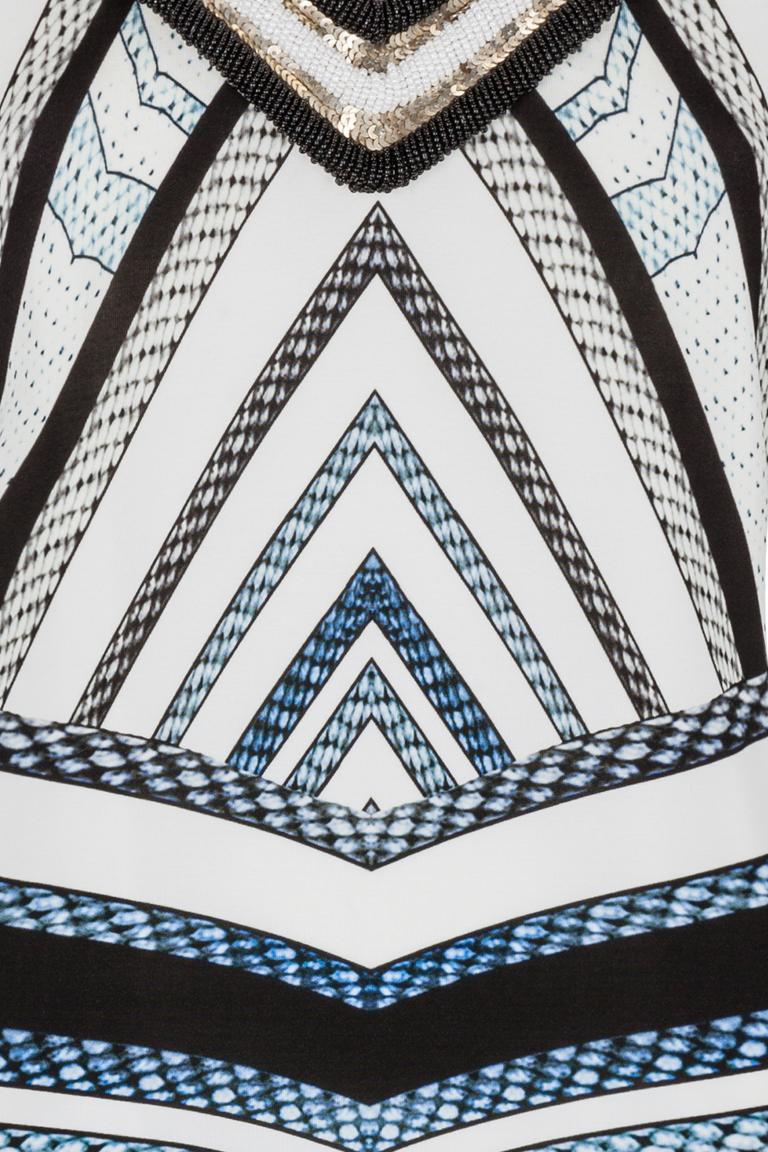 Detailansicht von Ana Alcazar Grafisches Kleid Gluesty