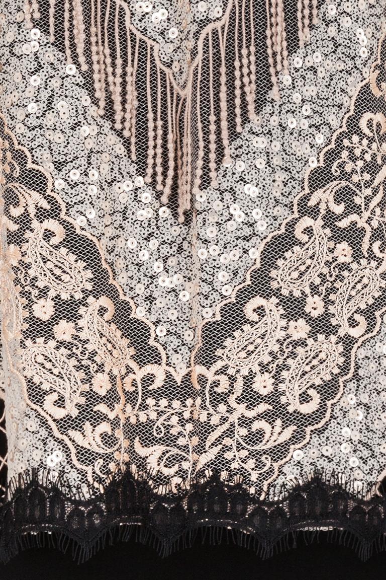 Detailansicht von Ana Alcazar Black Label Paillettenkleid Giorga