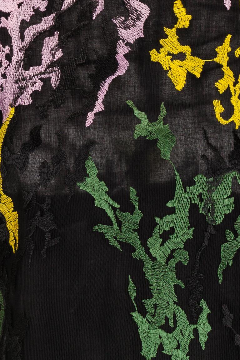 Detailansicht von Ana Alcazar Black Label Besticktes Cocktailkleid