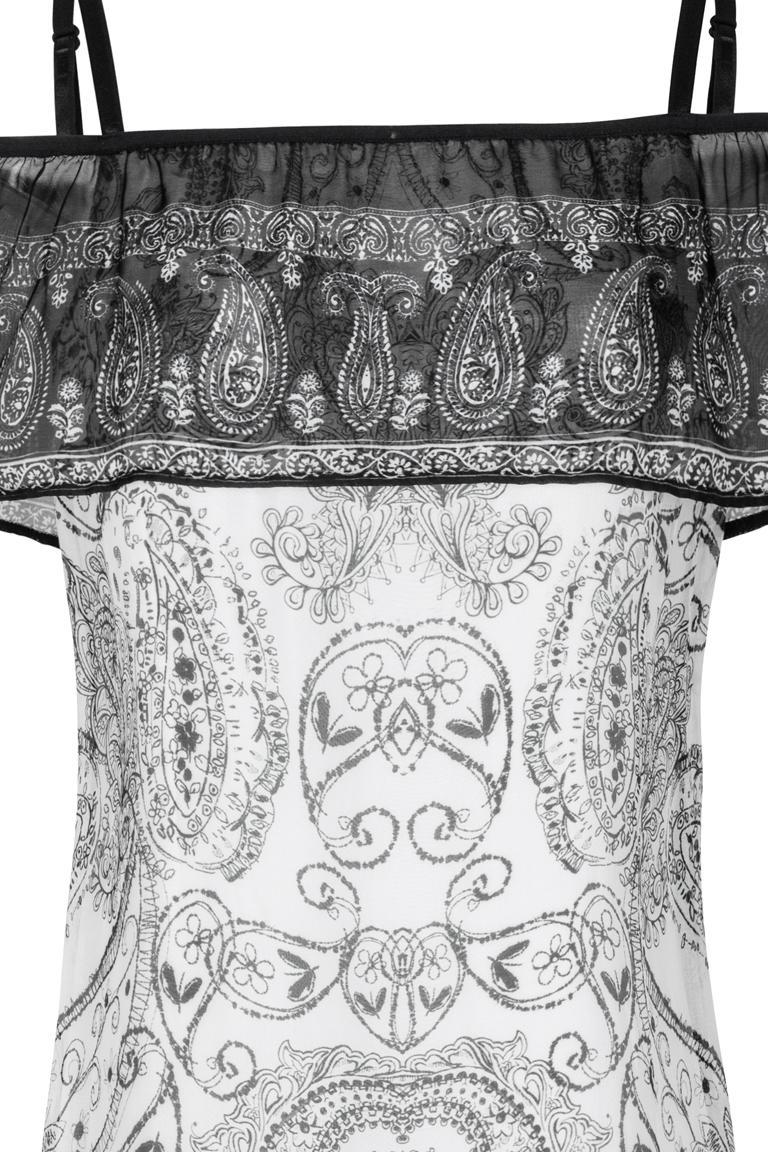 Detailansicht von Ana Alcazar Off-Shoulder Kleid Fyadora