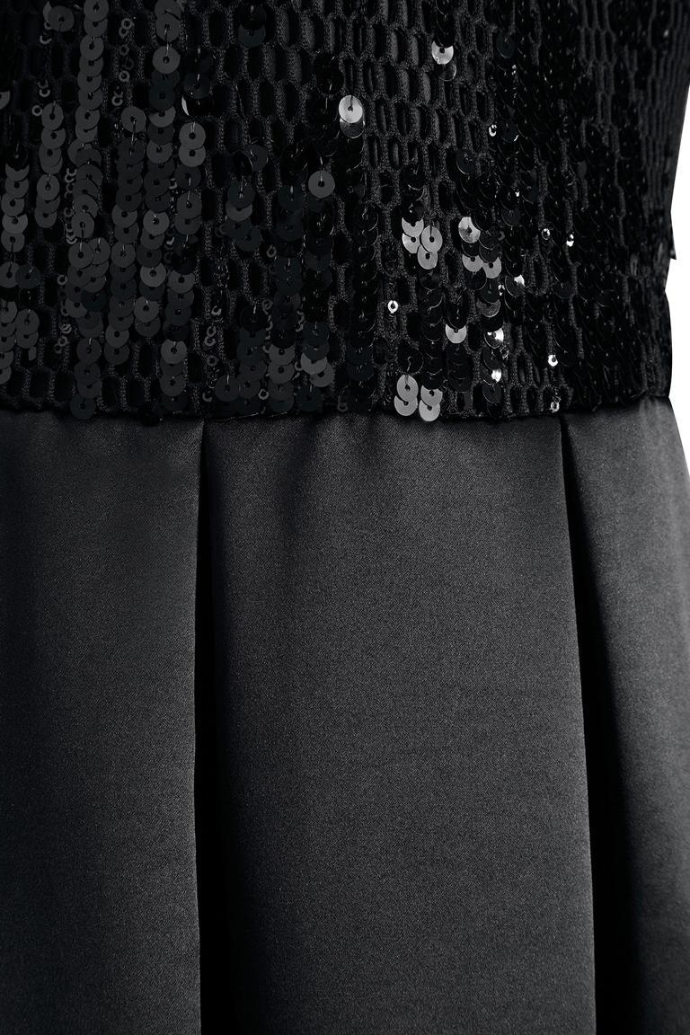 Detailansicht von Ana Alcazar Black Label Abendkleid Juvenys