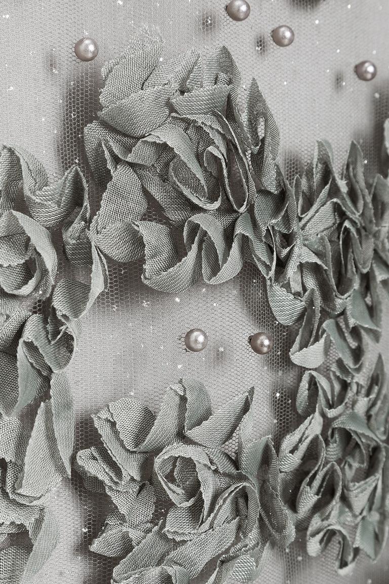Detailansicht von Ana Alcazar Black Label Kurzarmkleid Juventria