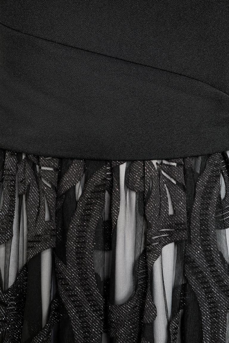 Detailansicht von Ana Alcazar Black Label Ballkleid Juvensia