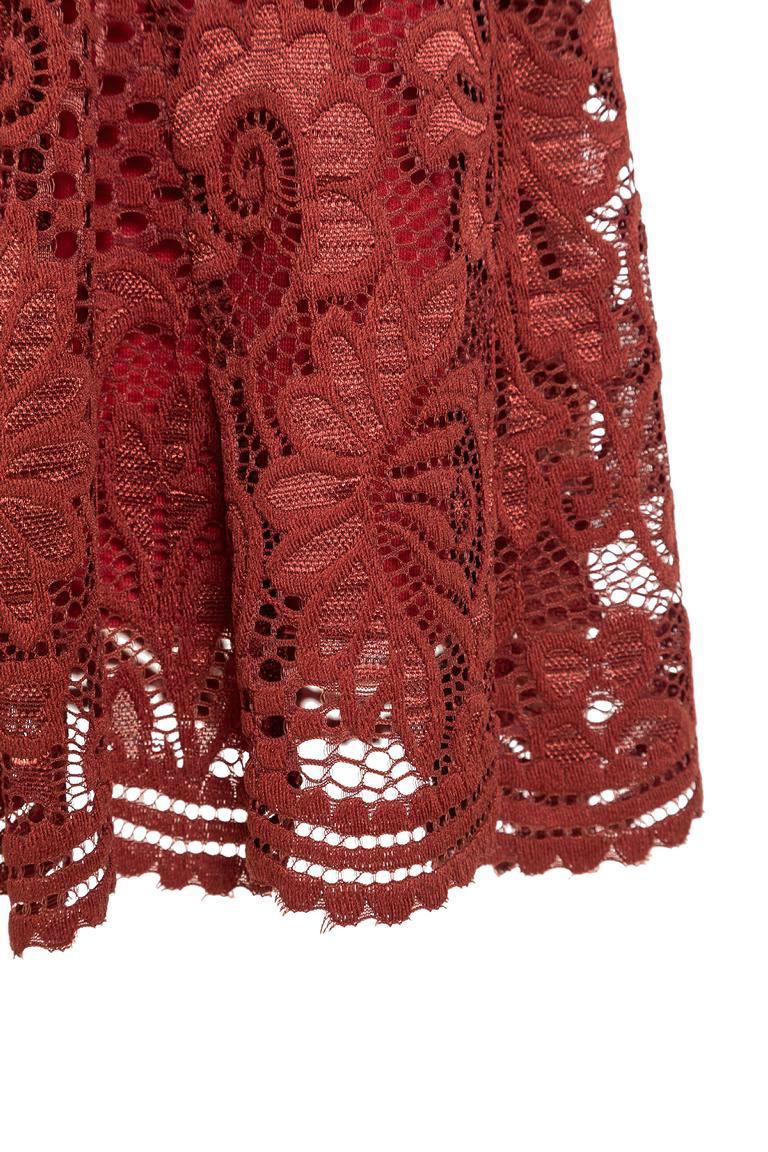 Detailansicht von Ana Alcazar Spitzen Tunikakleid Leyby