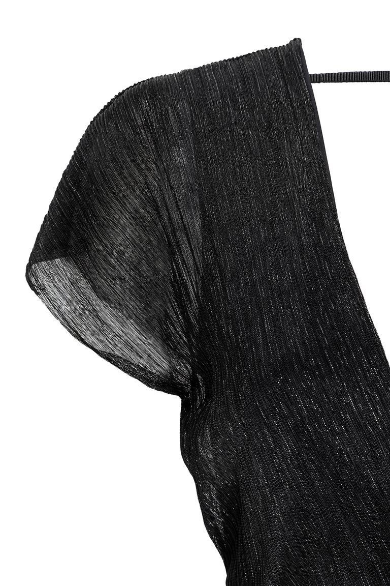 Detailansicht von Ana Alcazar Plissee Cocktailkleid Livoly