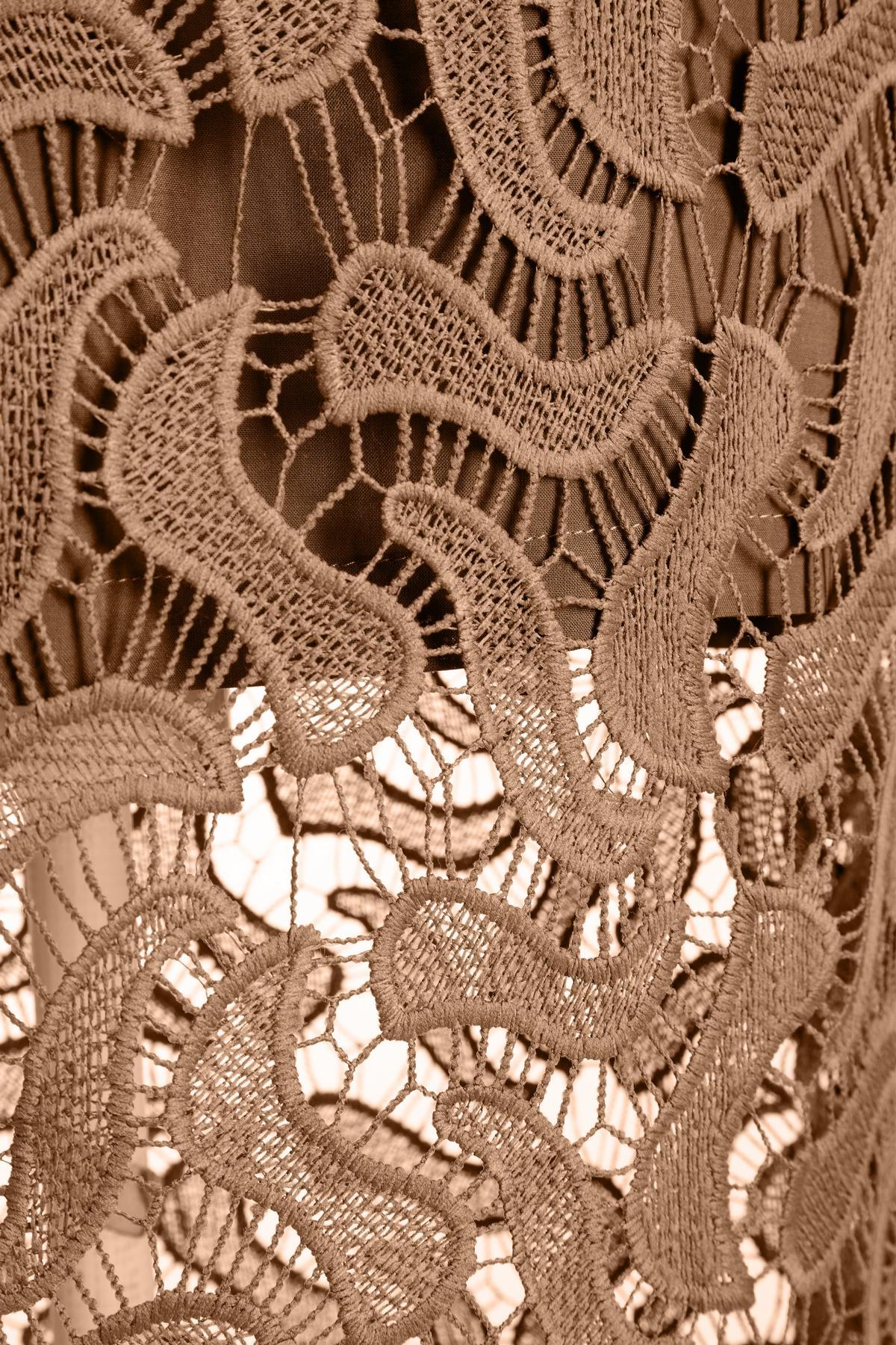 Detailansicht von Ana Alcazar Midi Spitzenkleid Mabou