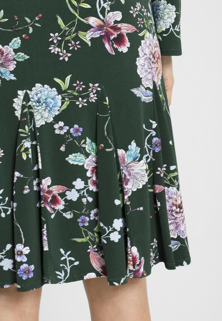 Detailansicht von Ana Alcazar Langarm-Kleid Polxea
