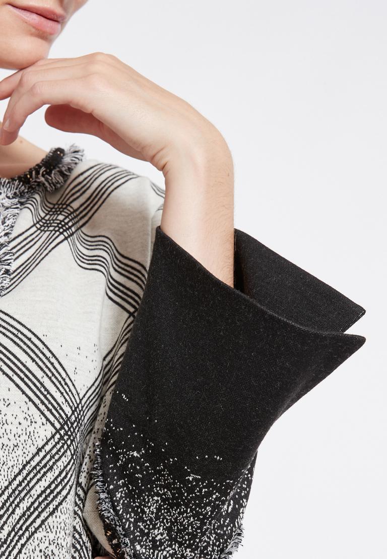 Detailansicht von Ana Alcazar Grafisches Tunikakleid Rava