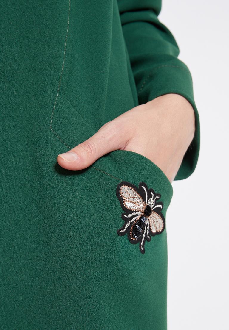 Detailansicht von Ana Alcazar Weites Kleid Rosmy Grün