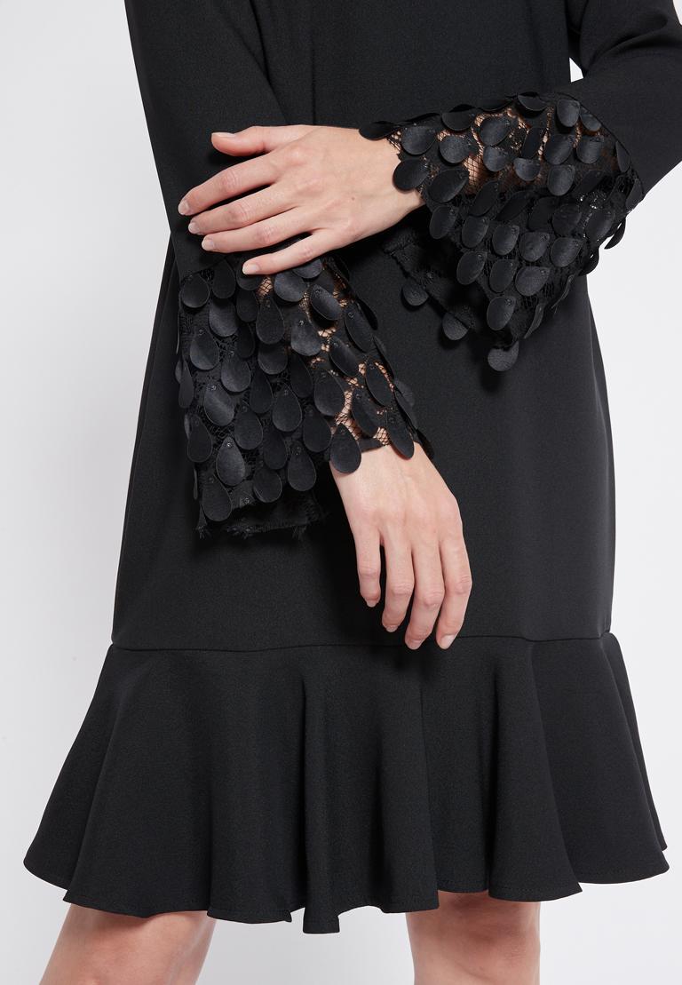 Detailansicht von Ana Alcazar Volant Kleid Rikea