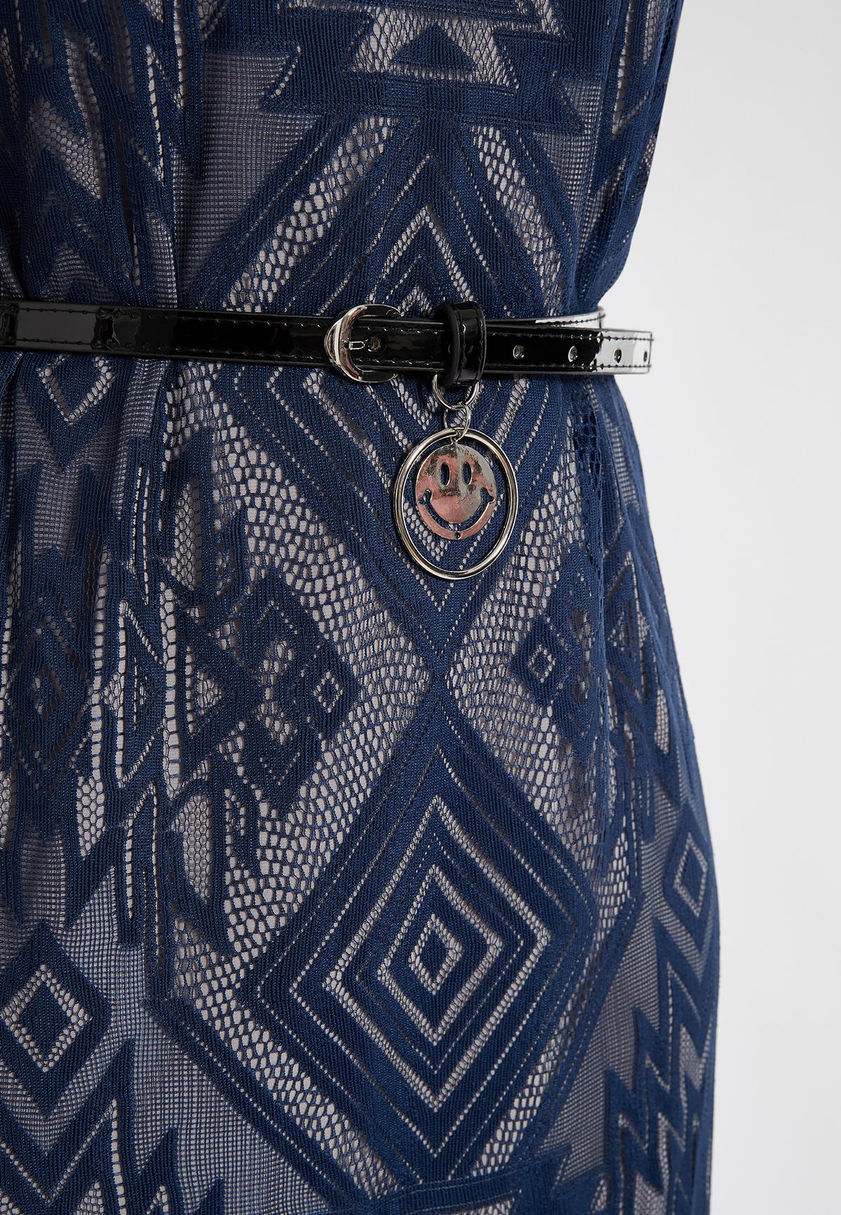 Detailed view of Ana Alcazar Sleeveless Dress Saprona