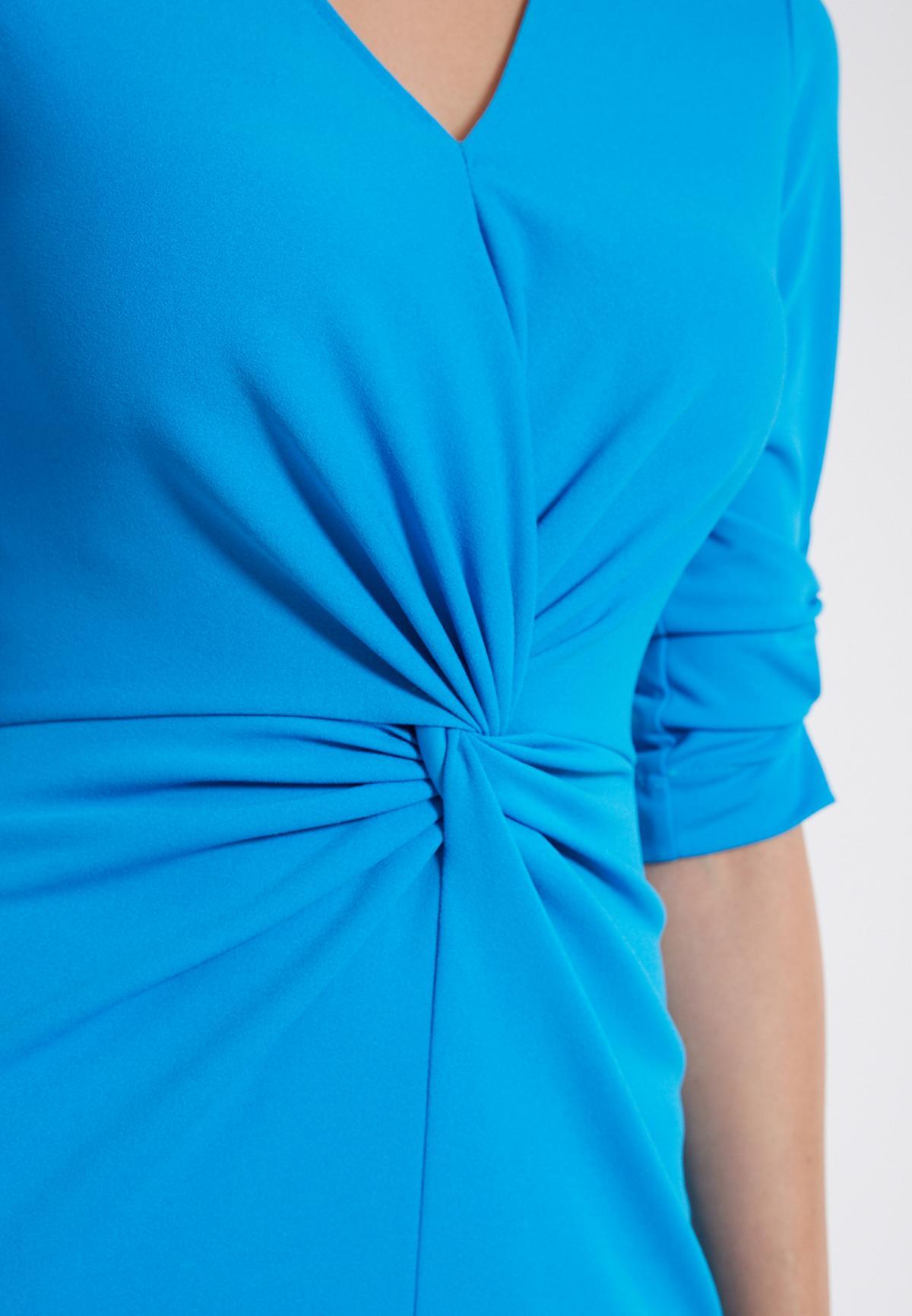 Detailansicht von Ana Alcazar Knotenkleid Savea Blau