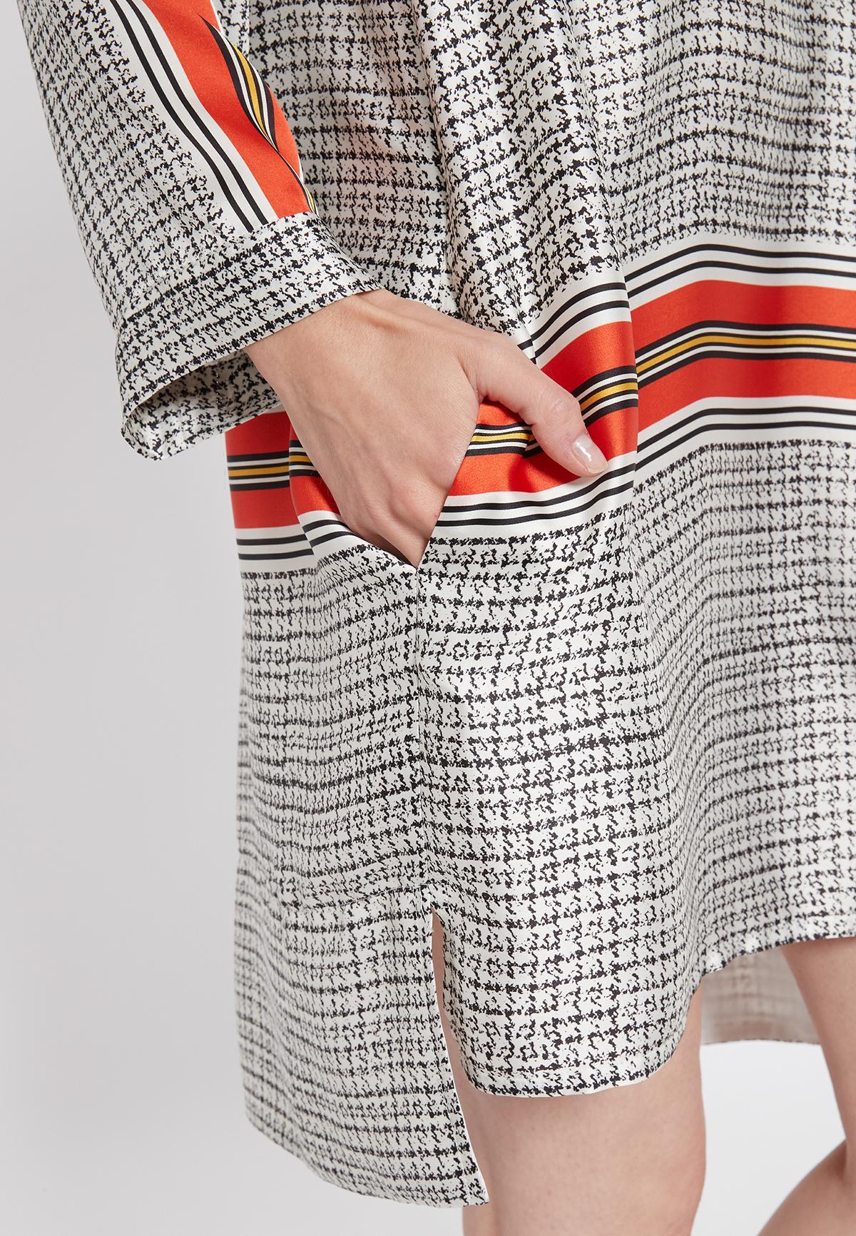 Detailansicht von Ana Alcazar Blusenkleid Seciose