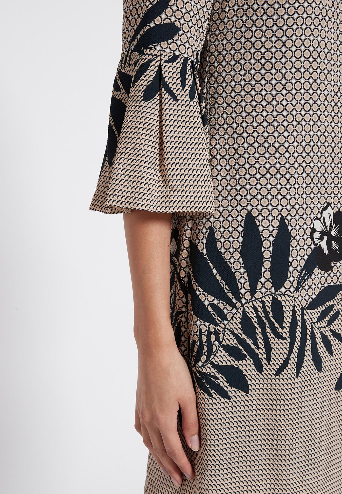 Detailed view of Ana Alcazar Sleeve Dress Serone