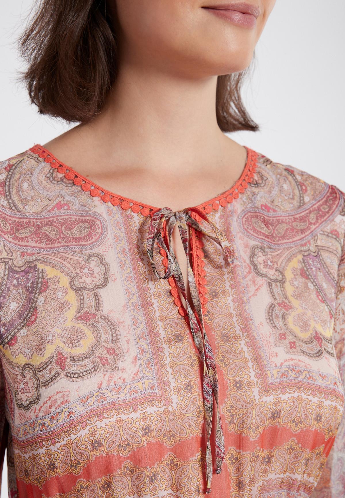 Detailansicht von Ana Alcazar Rüschenarmkleid Semesta