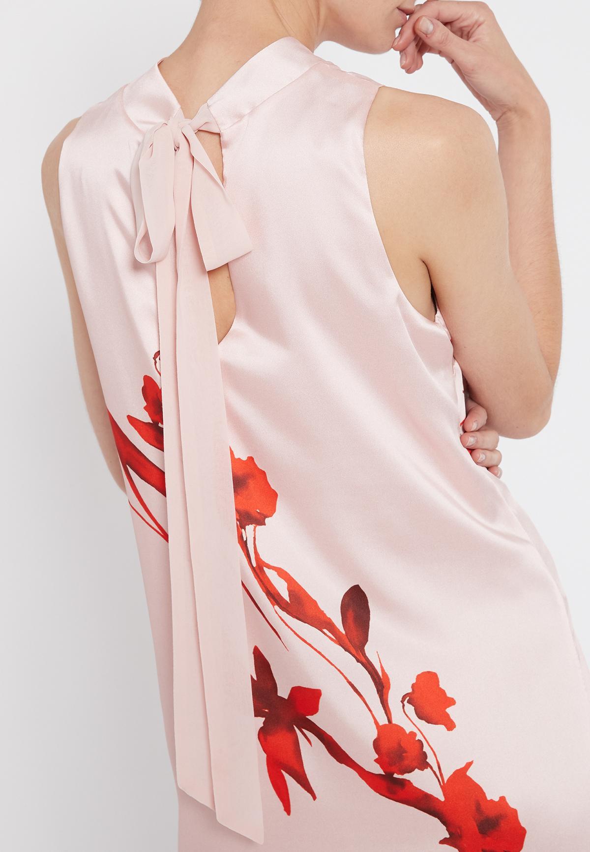 Detailed view of Ana Alcazar A-Shaped Dress Senty