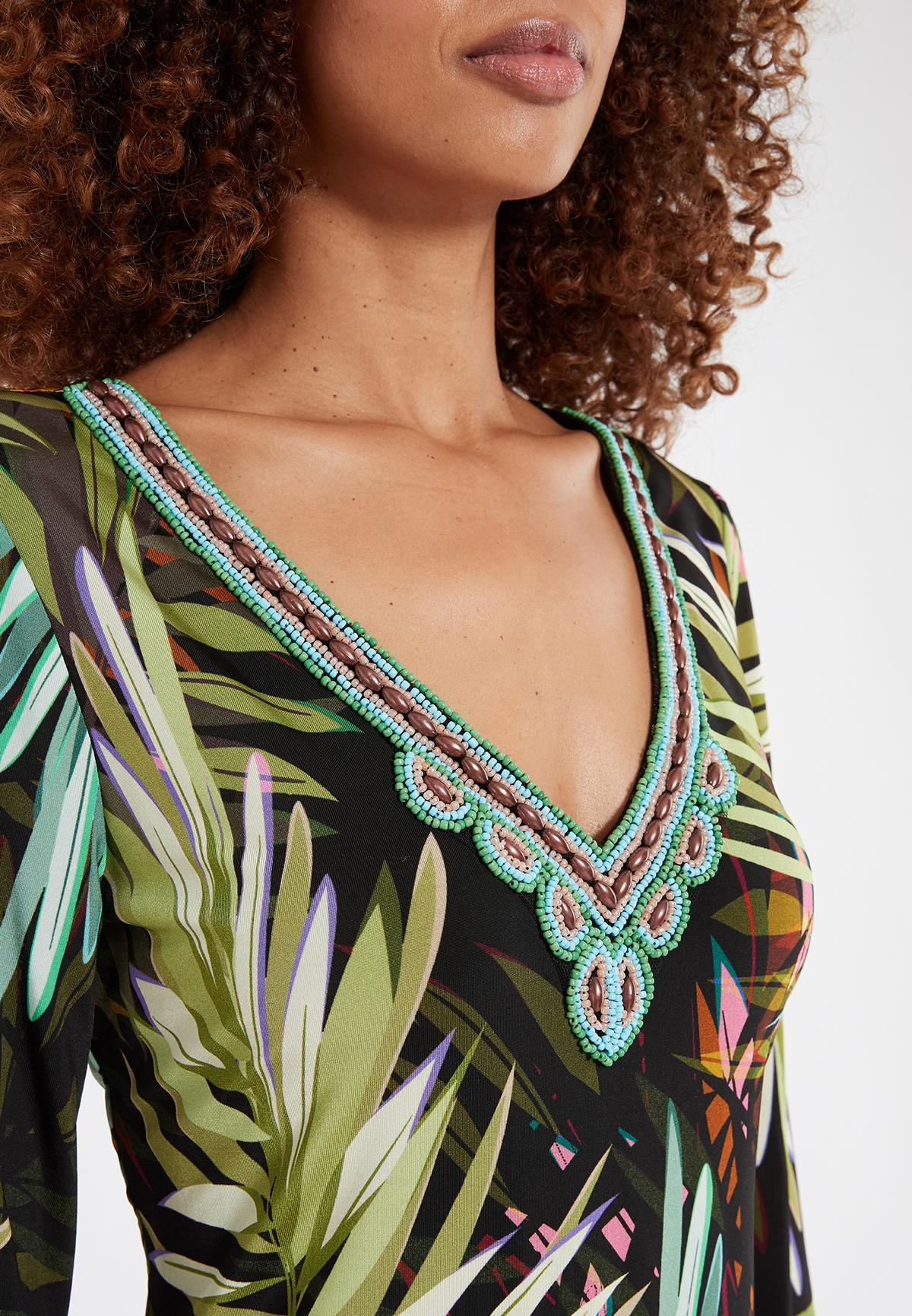Detailansicht von Ana Alcazar Deko Kleid Serkose