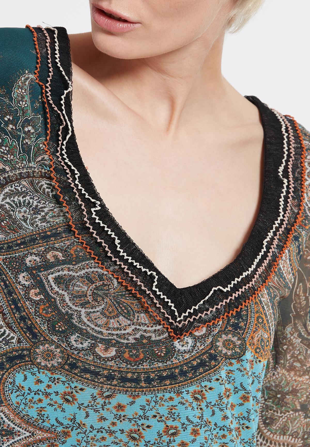 Detailansicht von Ana Alcazar Rüschenkleid Shara
