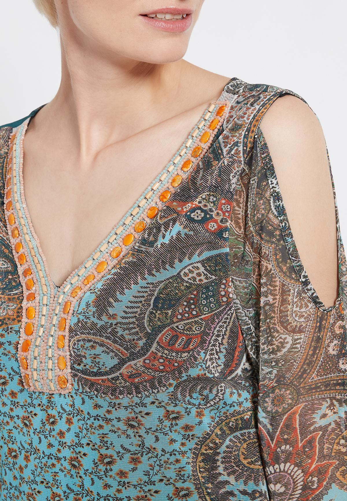 Detailansicht von Ana Alcazar Deko Kleid Shalma