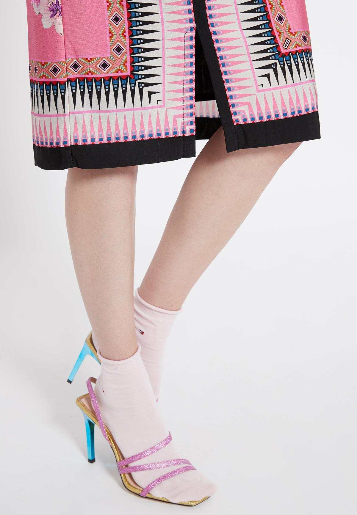 Detailansicht von Ana Alcazar Schlichtes Kleid Shenty