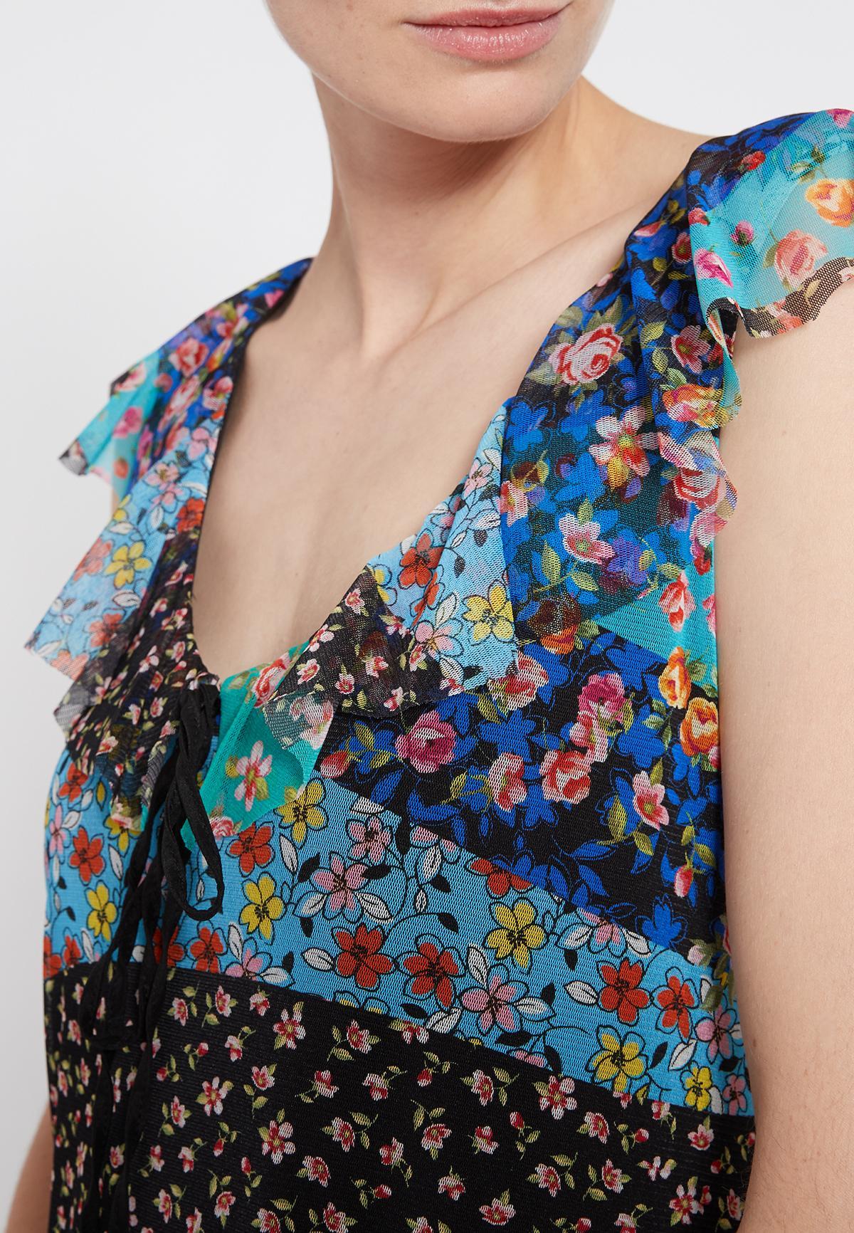 Detailansicht von Ana Alcazar Romantikkleid Shyrane