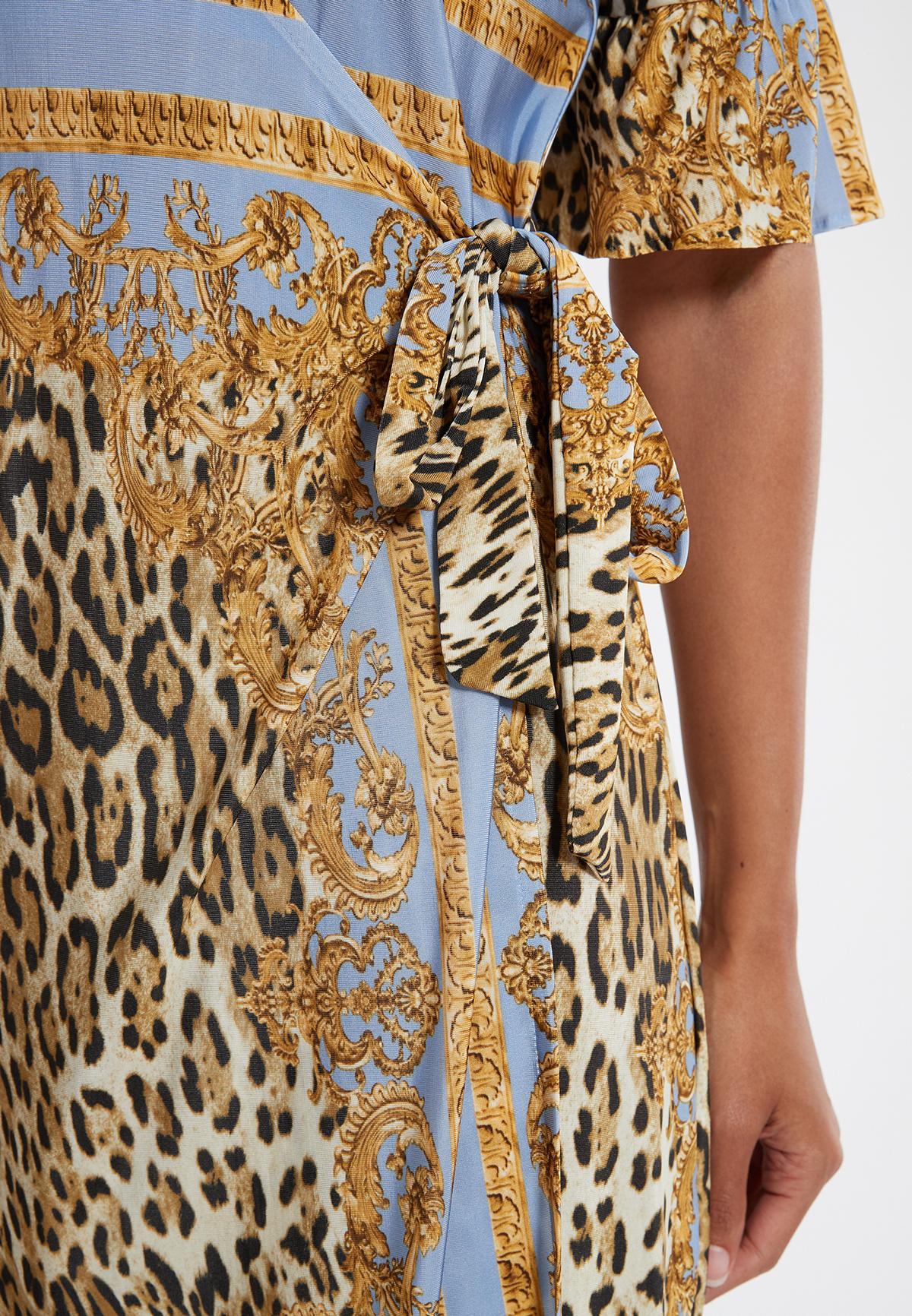 Detailansicht von Ana Alcazar Wickelkleid Silkona