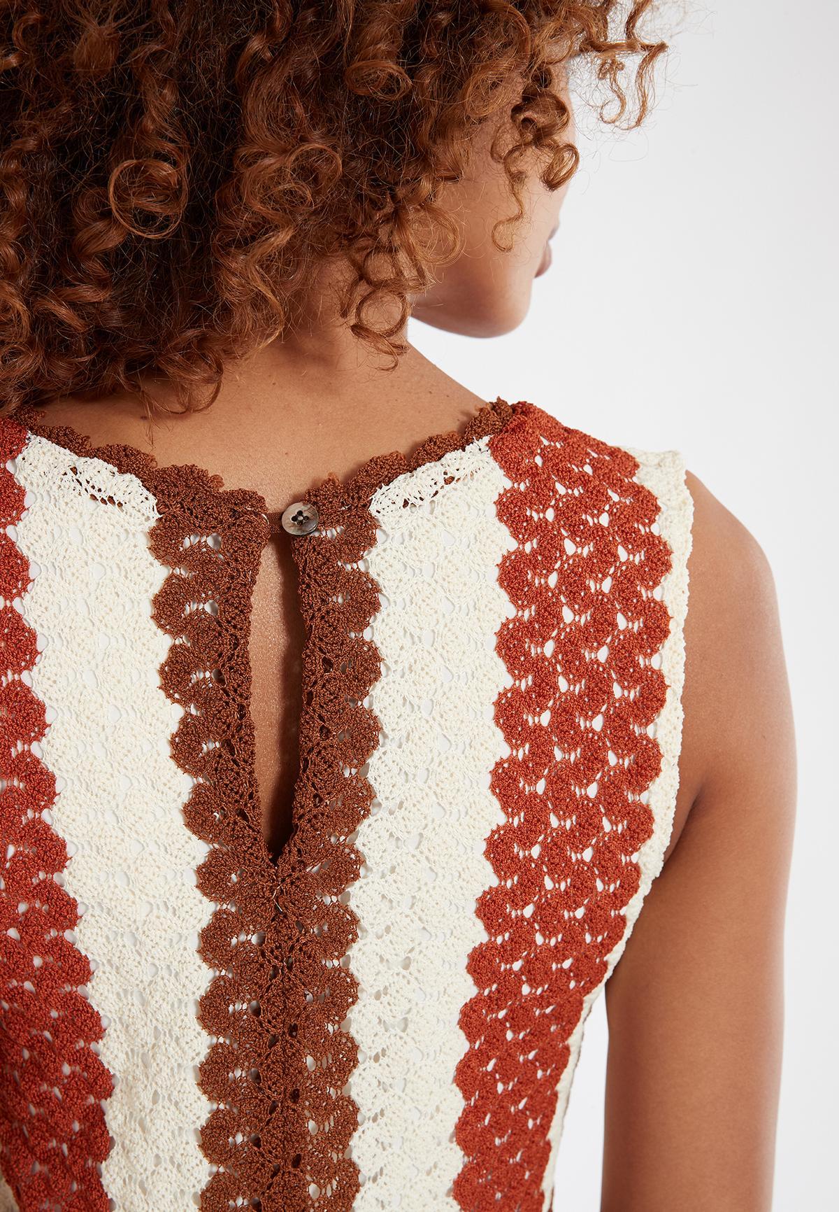 Detailansicht von Ana Alcazar Ärmelloses Kleid Sponty