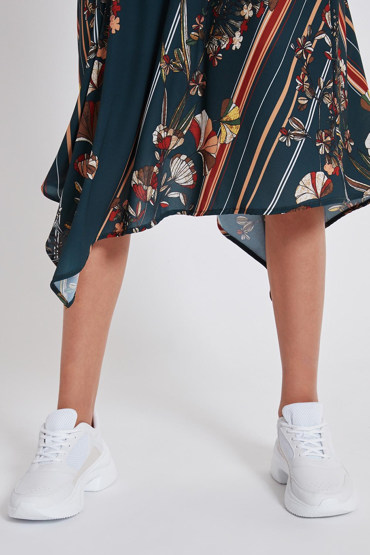Detailed view of Ana Alcazar Midi Dress Talusa