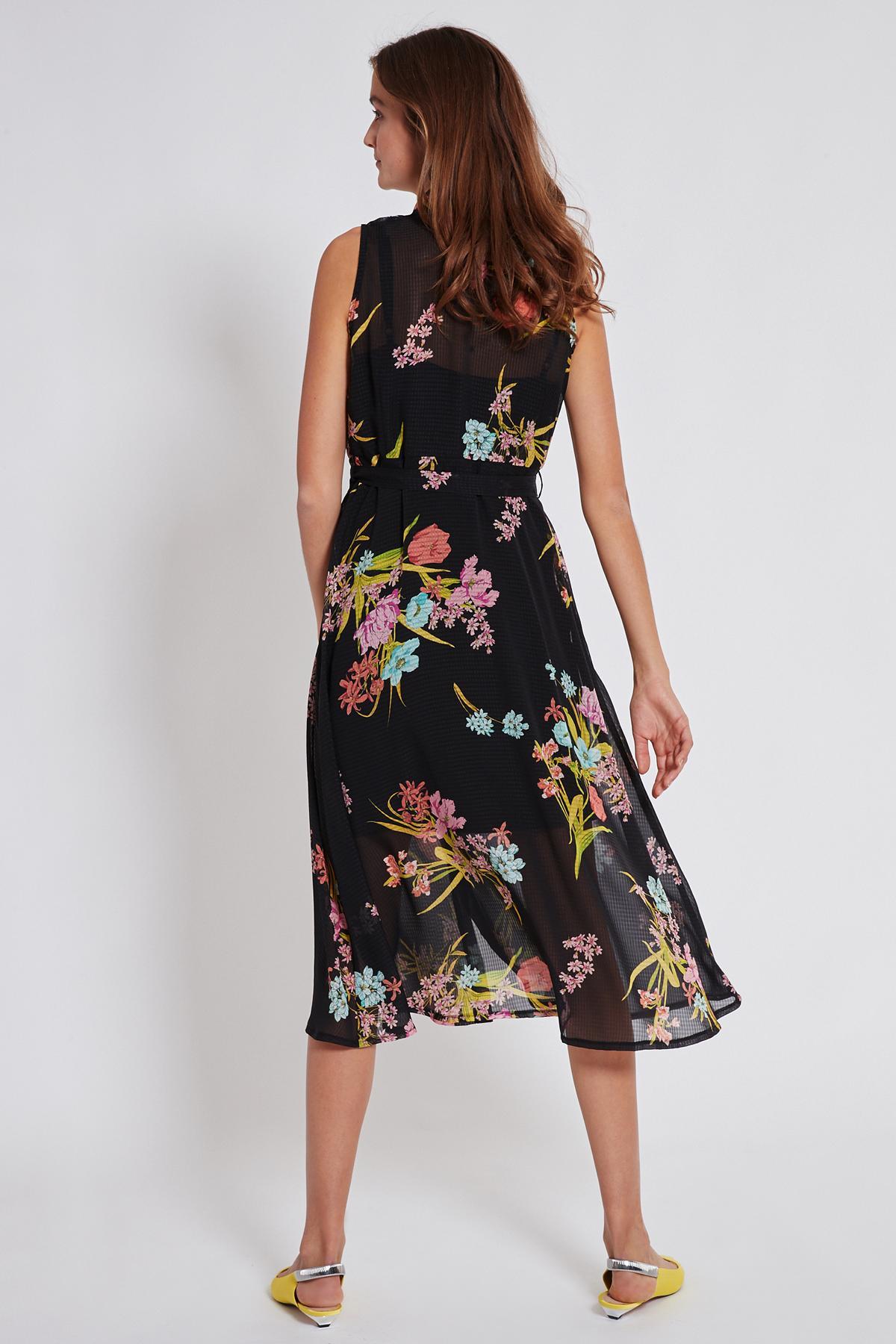 Detailansicht von Ana Alcazar Blusen Kleid Tamisy