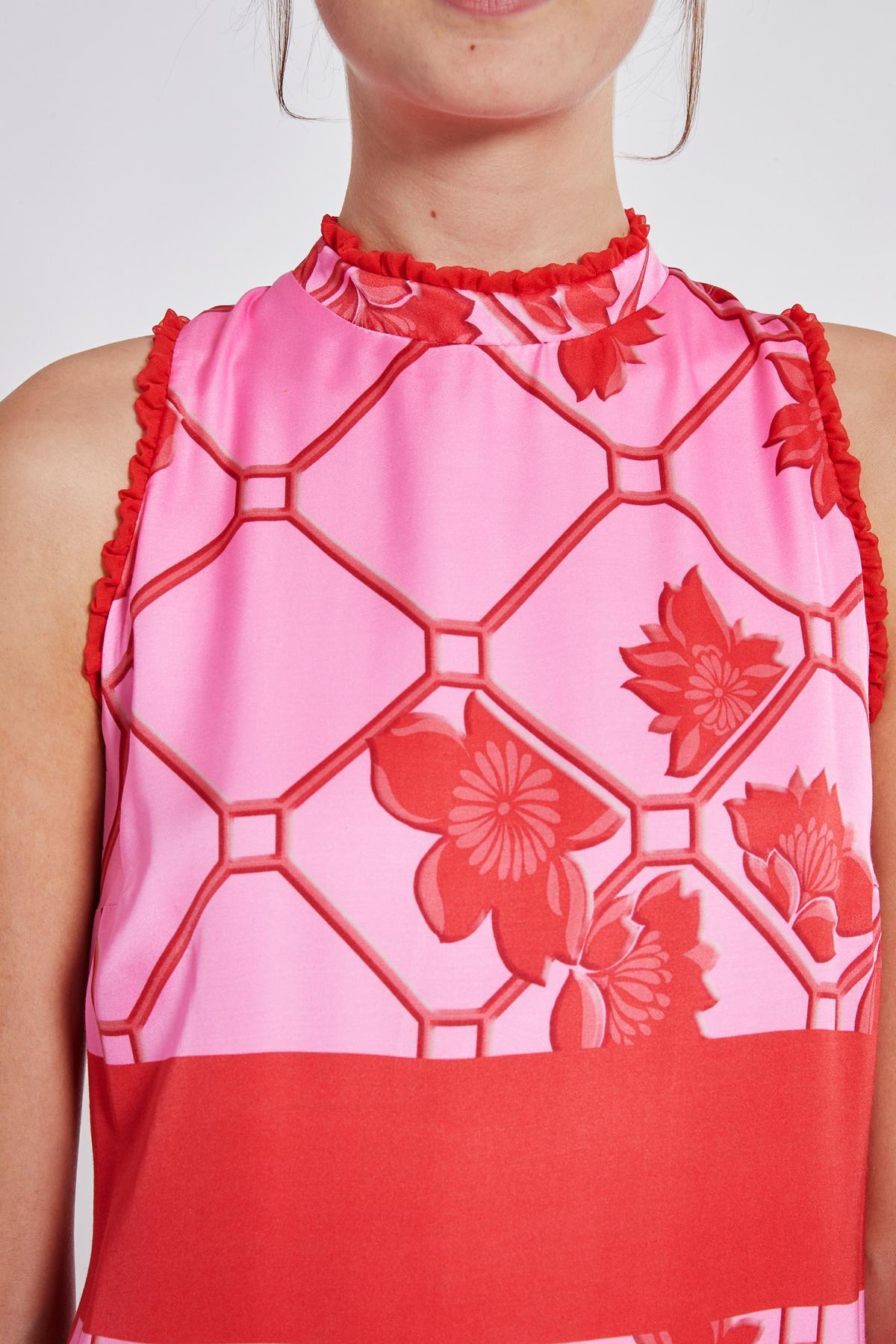 Detailansicht von Ana Alcazar Maxi Kleid Tebone