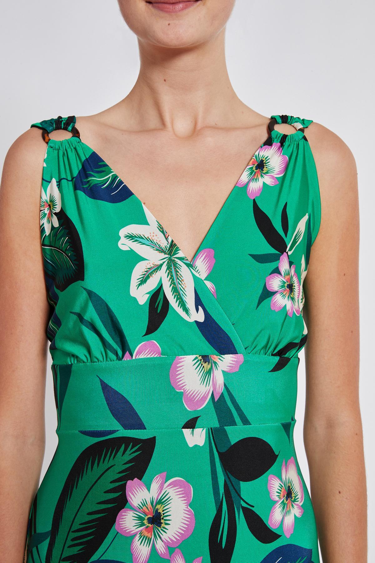 Detailansicht von Ana Alcazar Tailliertes Kleid Temonta