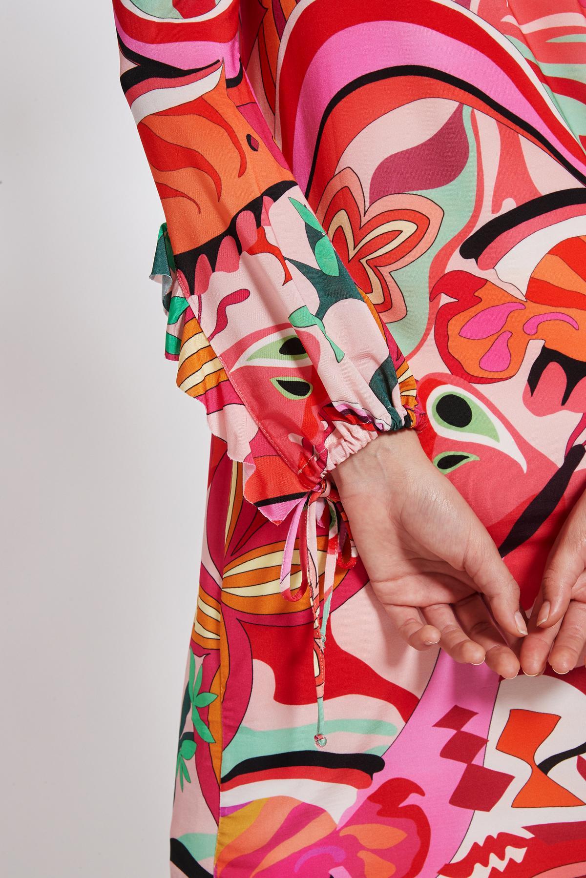 Detailansicht von Ana Alcazar Volant Kleid Teraly