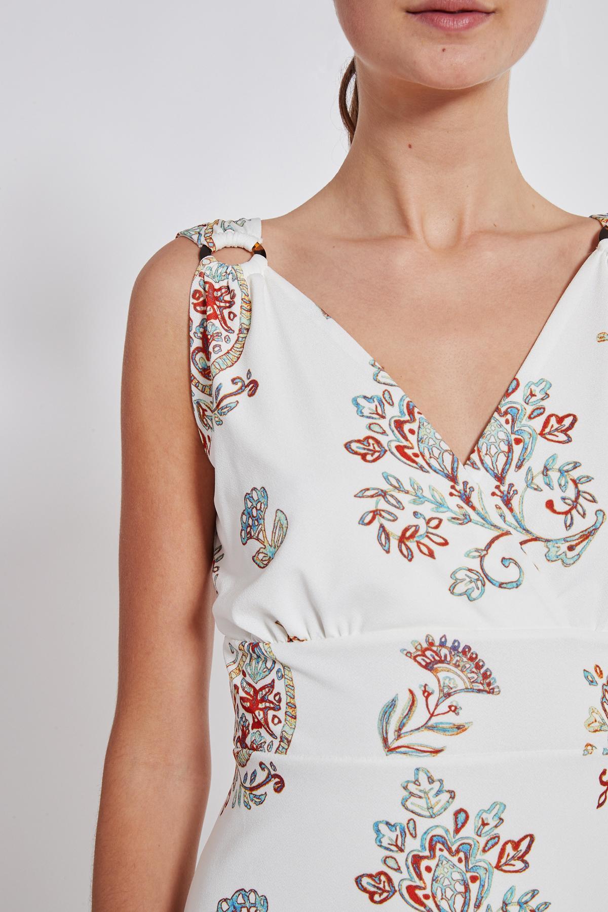 Detailansicht von Ana Alcazar Tailliertes Kleid Tesmy