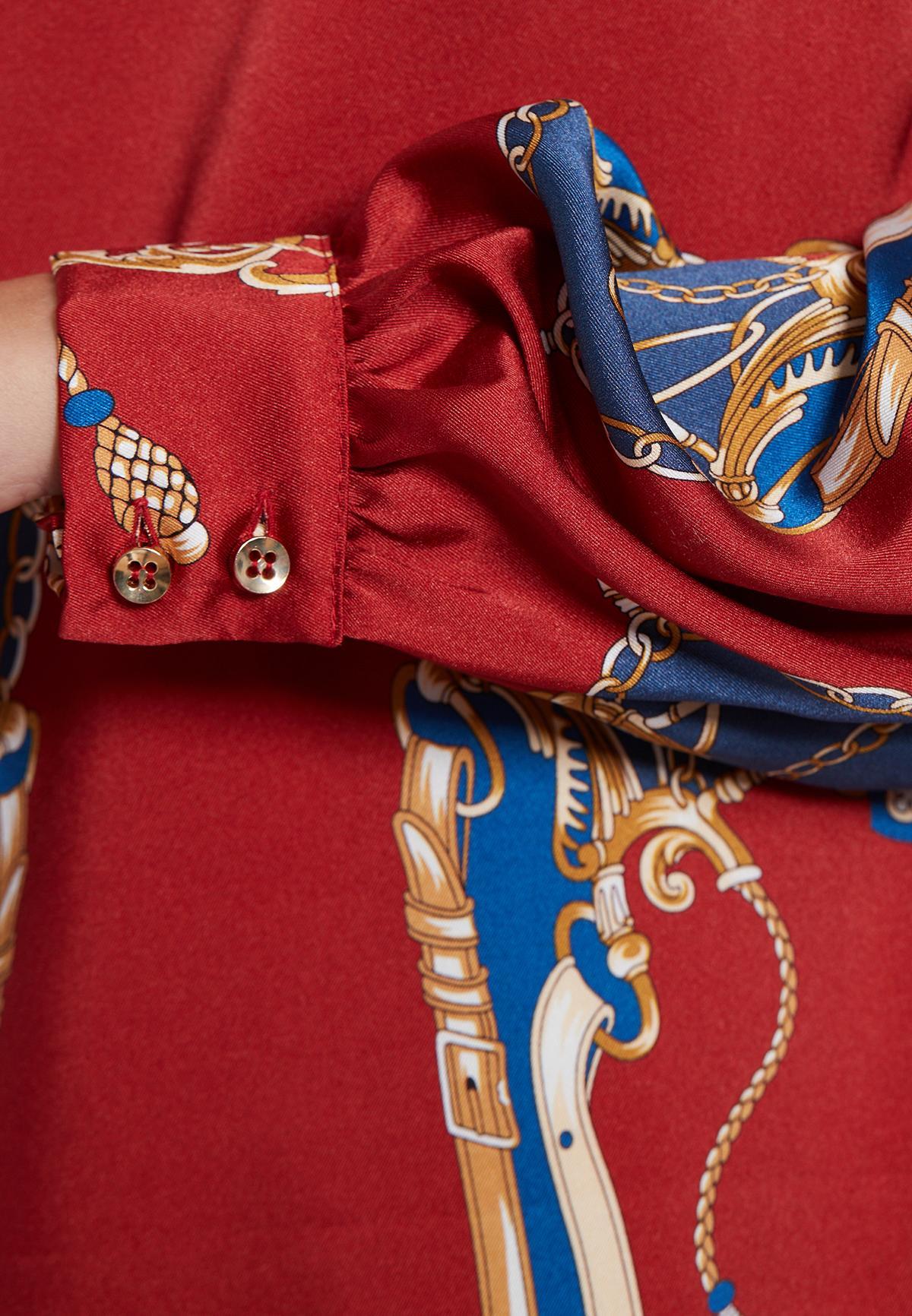 Detailansicht von Ana Alcazar Langarmkleid Vadjosa