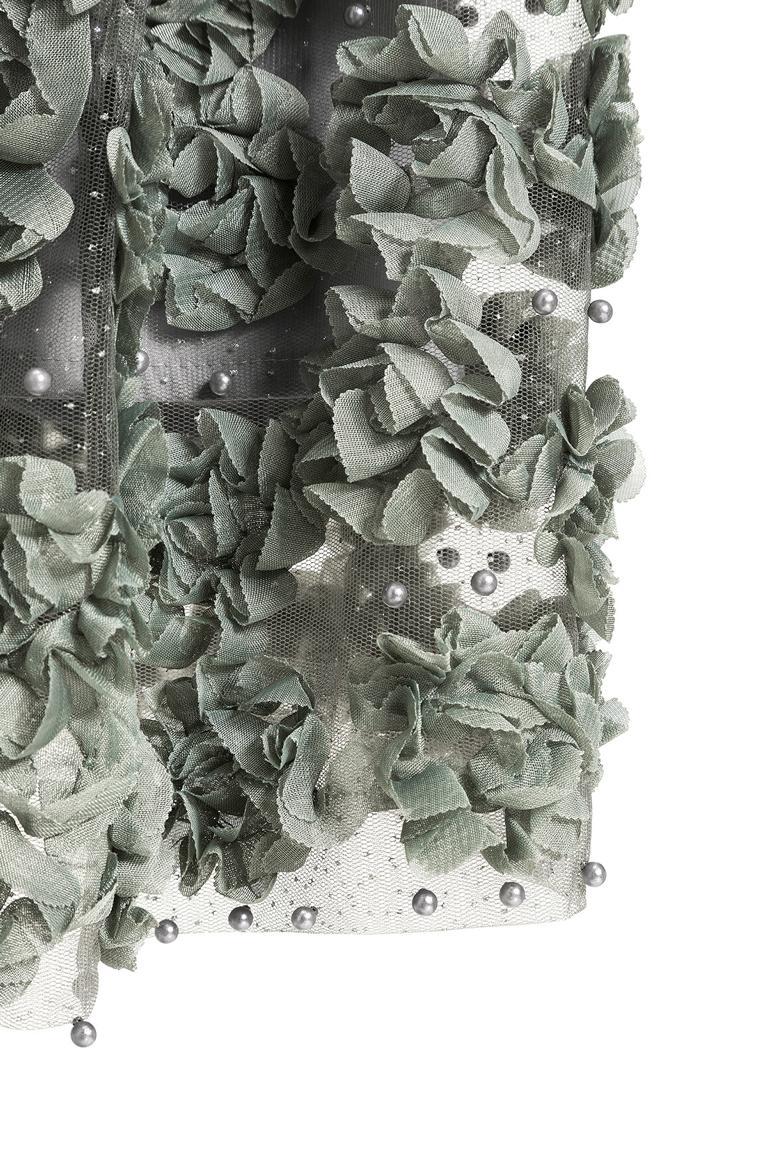 Detailansicht von Ana Alcazar Black Label Langer Rock Juventrea