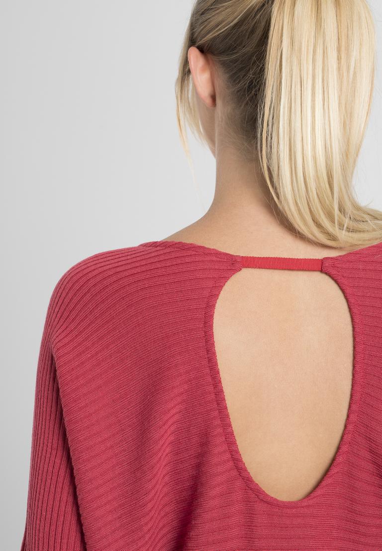 Detailansicht von Ana Alcazar Fledermaus Shirt Pereky Rot