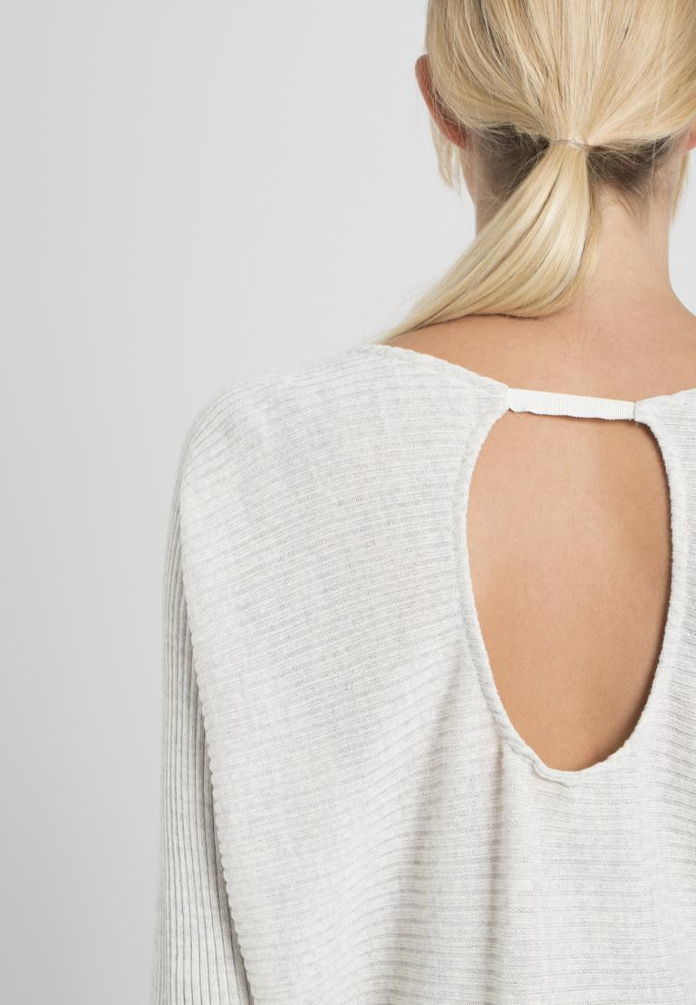 Detailansicht von Ana Alcazar Fledermaus Shirt Perine Offwhite