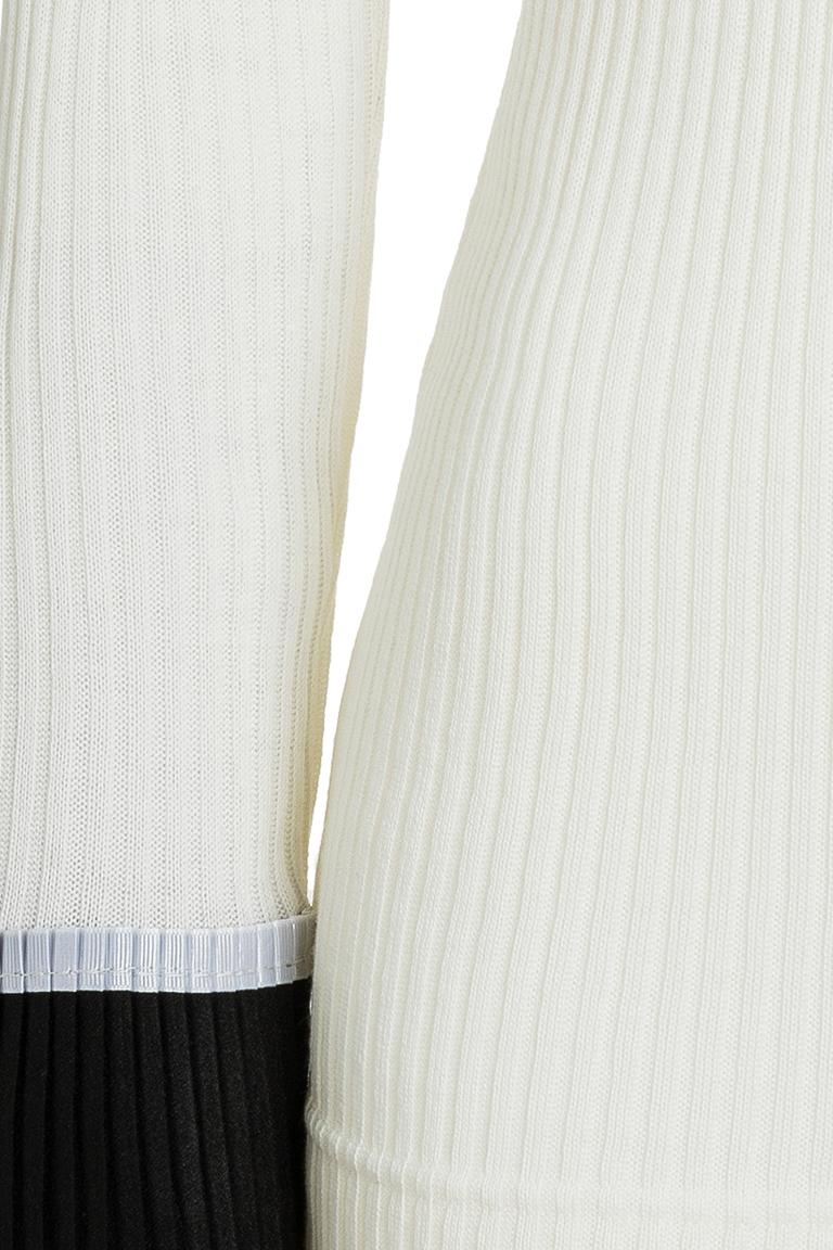 Detailansicht von Ana Alcazar Rollkragen Shirt Piaby Weiß